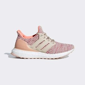 NWT Adidas Ultraboost Running Shoes in Chalk Coral